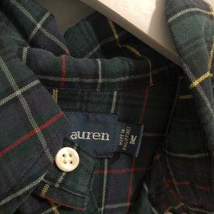 Ralph Lauren Shirts - Ralph Lauren Plaid Button Down